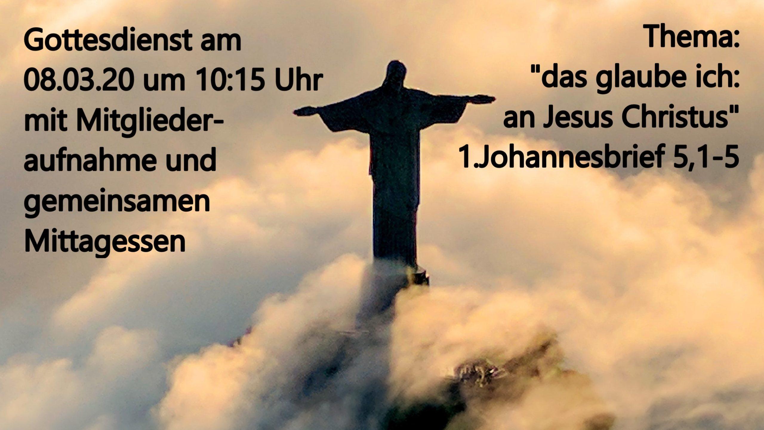das glaube ich - Teil 3: an Jesus Christus