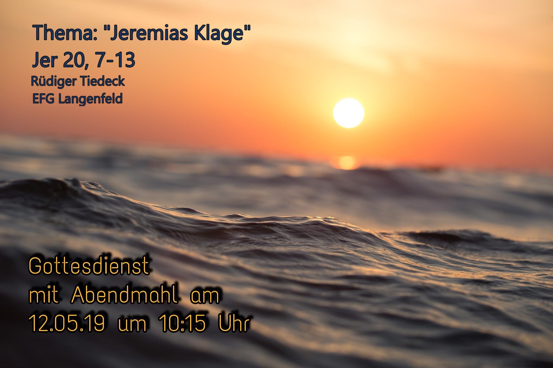 Jeremias Klage