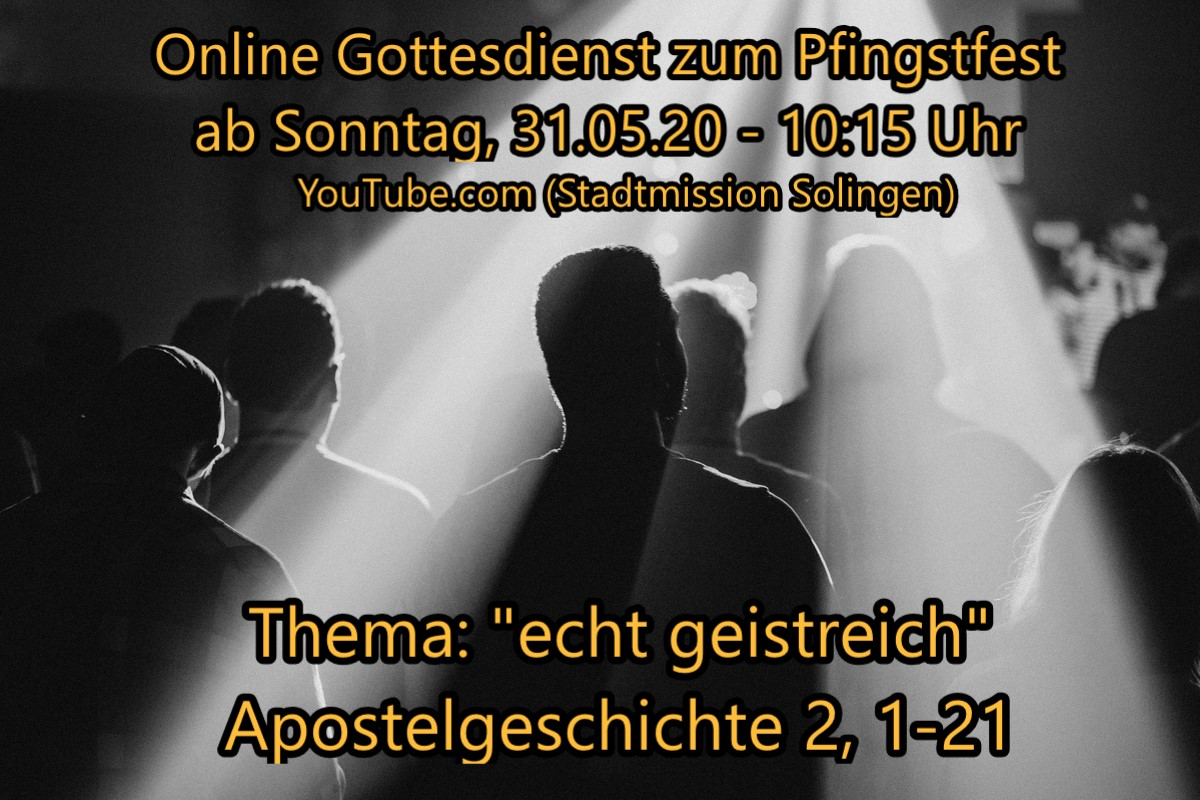 Online-Gottesdienst vom 31.05.2020