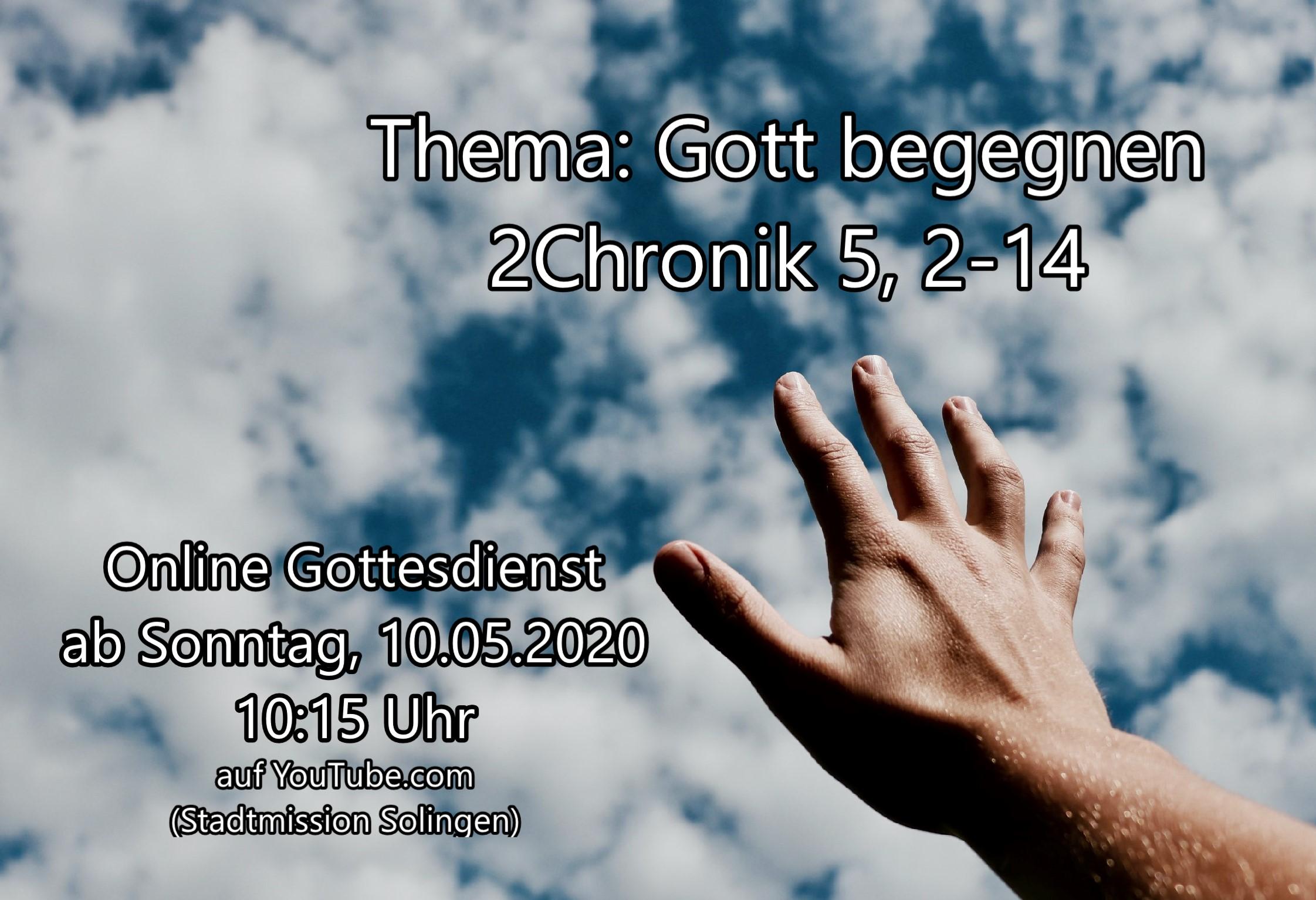 Online-Gottesdienst vom 10.05.2020